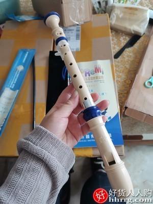 interlace,1# - 奇美牌高音德式竖笛,初学者入门六孔八孔笛子