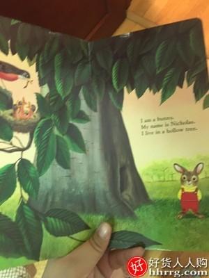 interlace,1# - 我是一只兔子纸板书,幼儿英语启蒙认知入门