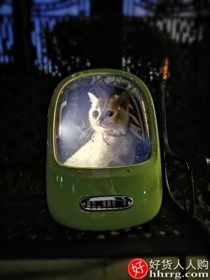 interlace,1# - 小佩猫包外出便携太空舱宠物背包,双肩猫咪出门包