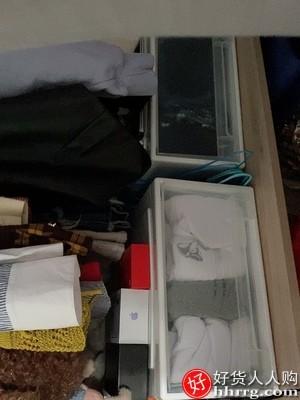 interlace,1# - 衣柜收纳箱抽屉式,塑料特大号衣服衣物透明储物柜