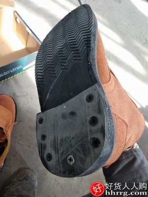 鼎固轮胎底安全防砸防刺穿劳保鞋,防铁屑耐高温防砸
