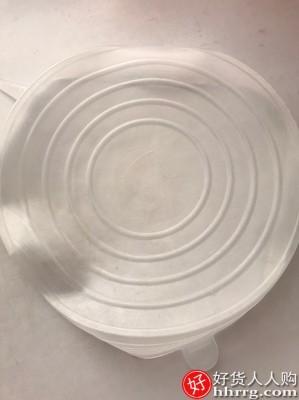 interlace,1# - 食品级硅胶保鲜盖万能碗盖,密封家用圆形通用保险盖