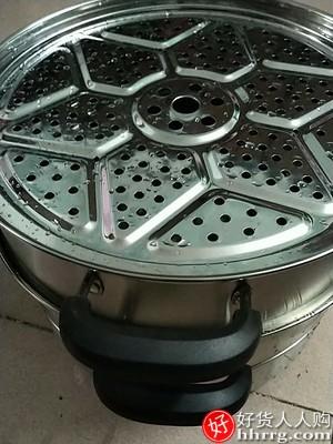 304不锈钢蒸锅32CM,加厚蒸笼家用