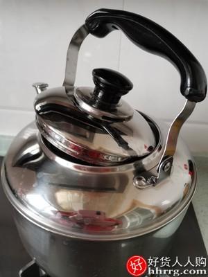 苏泊尔烧水壶,304不锈钢鸣笛开水壶