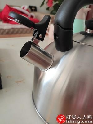德国ewee家用烧水壶,304不锈钢鸣笛水壶