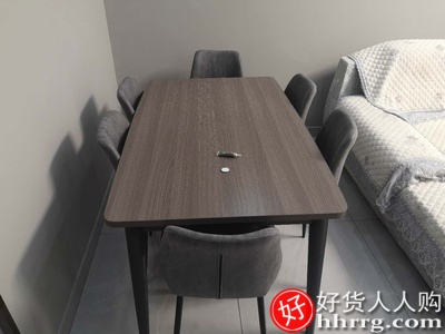 1589075972 O1CN01zZc1yV1Kpb1hKNYhY 0 rate.jpg 400x400 - 北欧餐桌椅组合,实木一桌四椅六椅长方形饭桌