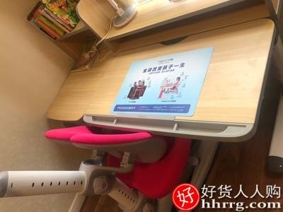 护童儿童学习桌,可升降学生写字书桌课桌椅套装