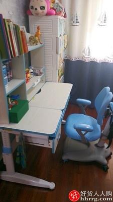 读书郎儿童学习桌,写字桌椅套装可升降书桌书柜组合