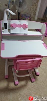 伯课儿童学习桌,儿童书桌写字桌椅套装可升降课桌椅