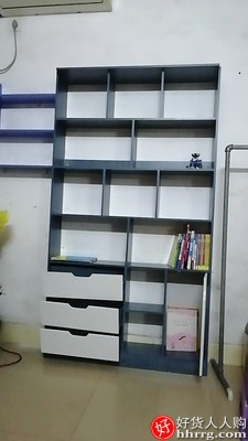 书柜落地小柜子置物架,客厅储物卧室收纳简易书架