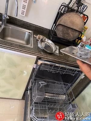 西门子进口嵌入式家用全自动洗碗机,除菌8套SC454B01AC