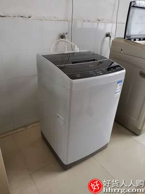 海尔10公斤全自动洗衣机,家用小型脱水波轮EB100M39TH