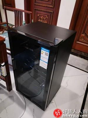 奥克斯冷藏柜,单门冰箱茶叶保鲜柜恒温红酒柜