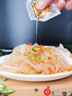 顺生即食海蜇丝175gX6袋,海蜇皮即食凉拌菜