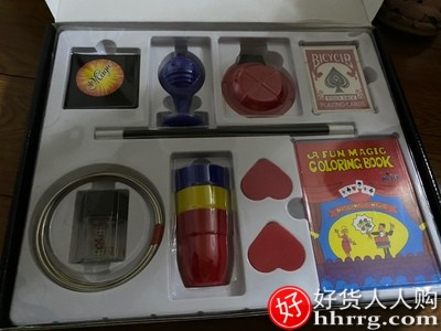 变魔术道具套装,全套儿童小玩具初学者扑克牌