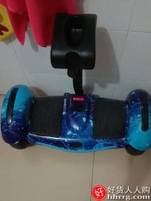 阿尔郎平衡车,儿童双轮智能带扶杆电动体感代步平行车