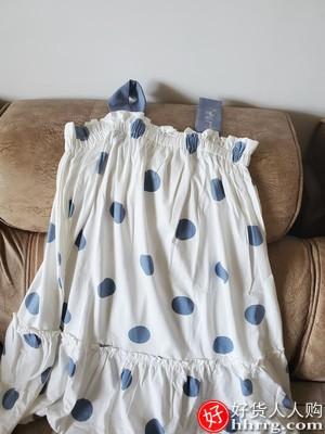 安之伴睡衣女,纯棉吊带睡裙可外穿背心裙家居服