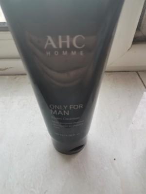 AHC男士洗面奶,控油去黑头祛痘除螨虫