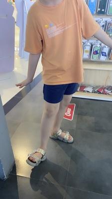 宽松韩版运动高腰休闲短裤,大码纯棉外穿五分裤