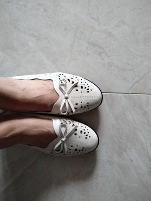妈妈凉鞋,真皮软底平底中老年女鞋