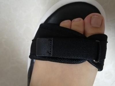 小码凉鞋女,初中学生厚底运动凉鞋