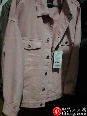 美特斯邦威牛仔外套,宽松夹克上衣情侣装