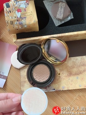 卡姿兰气垫CC霜,双生遮瑕保湿控油粉底液