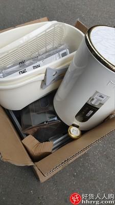 麦桶桶垃圾桶,带盖脚踏式家用垃圾桶