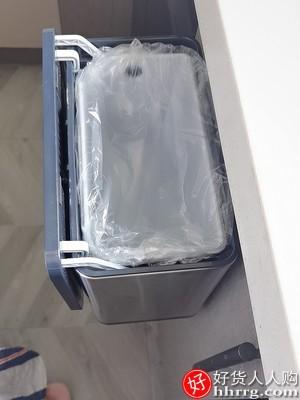 JAH厨房有盖挂式垃圾桶,厨余橱柜门挂壁垃圾筒