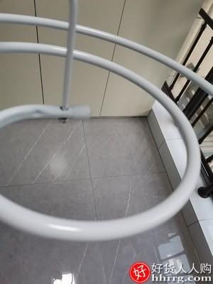 螺旋晾衣架床单杆,高层家用阳台外凉旋转收纳大架子