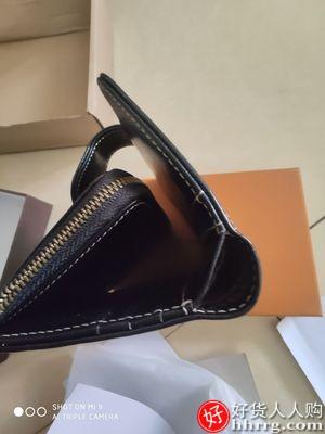 纳兰杜小钱包,短款真皮折叠皮钱夹女士零钱包