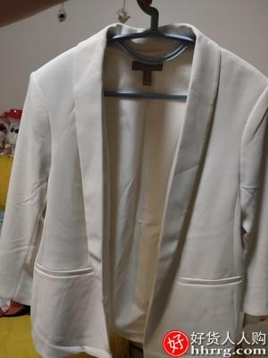 HM女装小西装外套,通勤职业装西服
