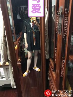太平鸟娃娃领连衣裙,百搭软皮尖头高跟鞋粗跟