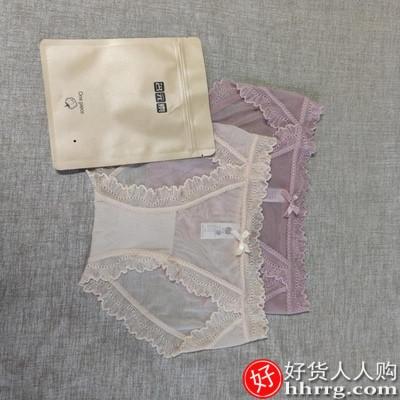 女士夏季内裤,薄款冰丝透气纯棉裆抗菌三角内裤