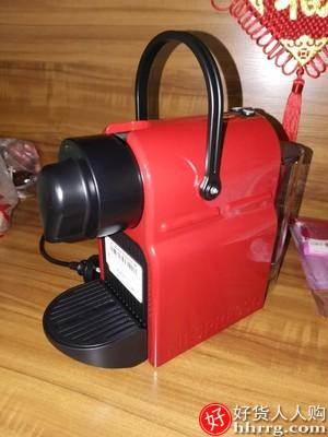 NESPRESSO Inissia 胶囊咖啡机,进口小型全自动咖啡机