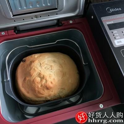 美的多功能智能烤面包机,家用全自动和面蛋糕机TLS2010