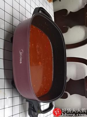美的家用多功能电火锅,一体式电热锅电炒锅电煮锅