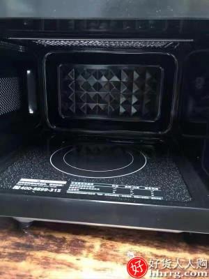 1610498705 O1CN01z8A4vx1qok2v7MxTf 0 rate.jpg 400x400 a545f469 - 美的L201B微波炉蒸烤箱一体,全自动平板变频小型光波正品