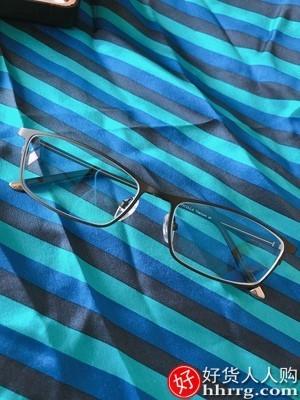 interlace,1# - 帕斯贝奇近视眼镜男,纯钛半框超轻商务大脸镜框