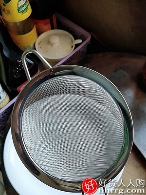 interlace,1# - 超细不锈钢筛子面粉筛,手持半自动网烘焙圆形糖粉杯式过滤网筛