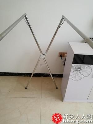 interlace,1# - 佳帮手落地晾衣架,室内室外家用阳台卧室折叠凉伸缩式杆