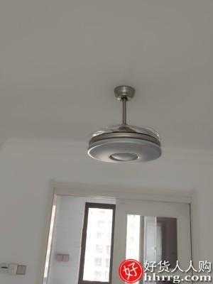 interlace,1# - 三下变频风扇灯,隐形吊扇灯餐厅卧室带电风扇吊灯