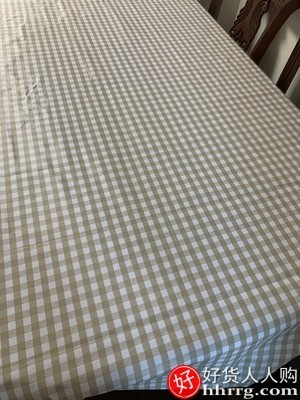interlace,1# - 怡沁园桌布布艺,防水防油免洗长方形餐桌布茶几pvc学生书桌垫