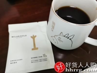 interlace,1# - 金米兰36包美式香浓挂耳咖啡,滤挂式新鲜现磨无蔗糖添加纯黑咖啡粉