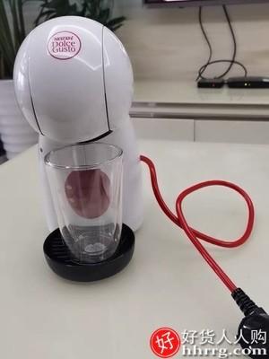 interlace,1# - 雀巢Piccolo XS小星星胶囊咖啡机,意式家用奶泡机星巴克咖啡套装
