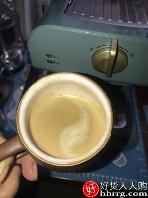 interlace,1# - Petrus/柏翠复古咖啡机,家用小型全半自动意式浓缩蒸汽打奶泡