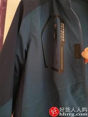 interlace,1# - 迪人杰三合一冲锋衣,可拆卸户外防风防水加绒加厚登山服
