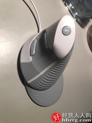 interlace,1# - 多彩M618垂直鼠标,无线充电有线静音电脑立式蓝牙