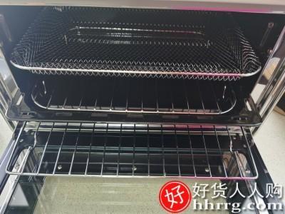 interlace,1# - 柏翠PE7920家用烘焙机,多功能小型智能风炉空气炸无油烤箱风干果干机
