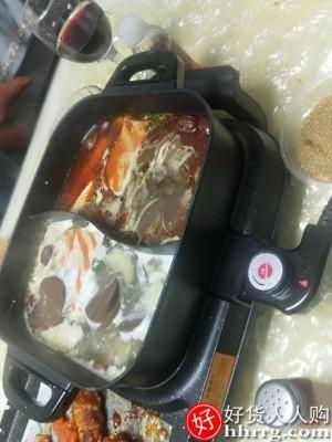 interlace,1# - 奥然家用韩式火锅烧烤一体锅,多功能烤肉机烤鱼盘炉涮烤无烟烤盘